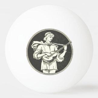 Bola de ping-pong de Strummer del Ukulele Pelota De Ping Pong