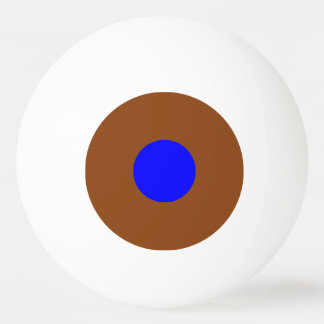 bola de ping-pong de una estrella - Brown y azul Pelota De Tenis De Mesa