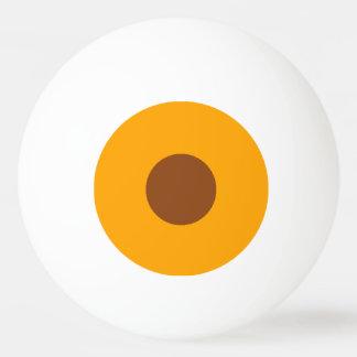 bola de ping-pong de una estrella - naranja y pelota de tenis de mesa