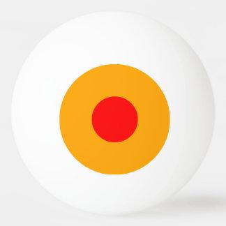 bola de ping-pong de una estrella - naranja y rojo pelota de ping pong