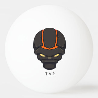 Bola de ping-pong del alquitrán de Chibi Pelota De Tenis De Mesa