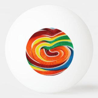 Bola de ping-pong del caramelo pelota de ping pong