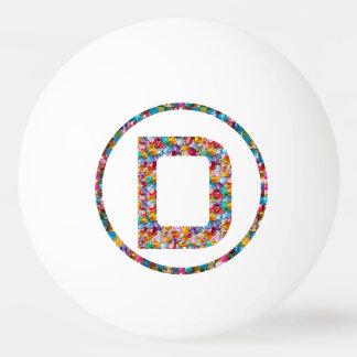 Bola de ping-pong del DDD 3* de la DD del ARTE D Pelota De Tenis De Mesa