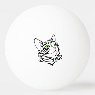 Bola de ping-pong dulce del gato de FaceKitty Pelota De Ping Pong