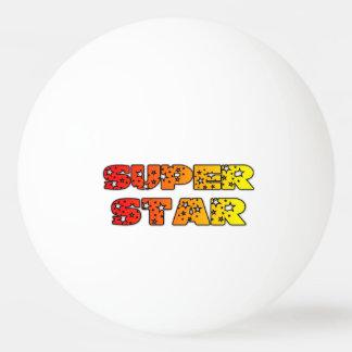 Bola de ping-pong estupenda de la estrella pelota de ping pong