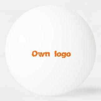 Bola de ping-pong para propio logotipo pelota de tenis de mesa