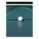 Bola de ping-pong postales
