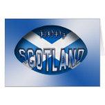 Bola de rugbi de Escocia Felicitaciones