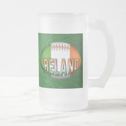 Bola de rugbi de Irlanda Taza