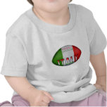 Bola de rugbi de Italia Camiseta