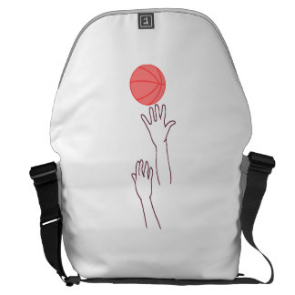 Bola de salto del baloncesto bolsa de mensajeria