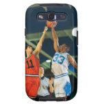Bola de salto en juego de baloncesto samsung galaxy s3 protector