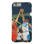 Bola de salto en juego de baloncesto funda barely there iPhone 6