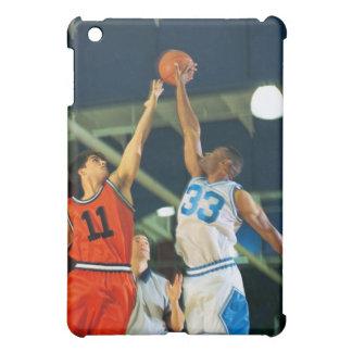 Bola de salto en juego de baloncesto