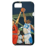 Bola de salto en juego de baloncesto funda para iPhone SE/5/5s