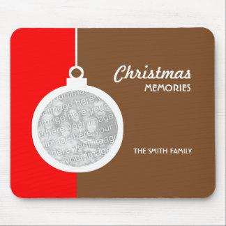 Bola decorativa del navidad tapetes de ratones