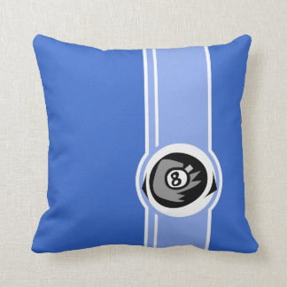 Bola del azul 8 cojin