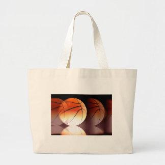 Bola del baloncesto bolsa tela grande