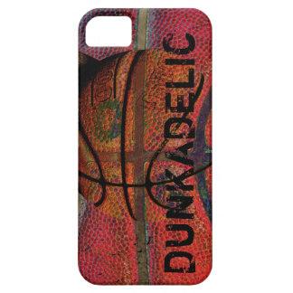 bola del baloncesto - grunge urbano - dunkadelic iPhone 5 fundas