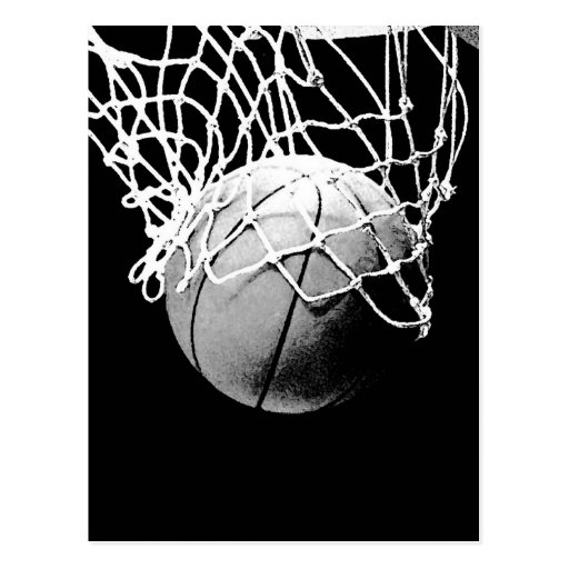 Bola del baloncesto postales