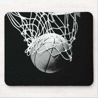 Bola del baloncesto tapete de raton