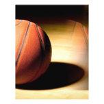 Bola del baloncesto tarjetón