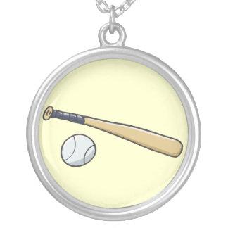 Bola del bate de béisbol n colgante redondo