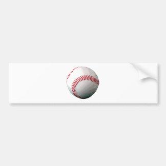 Bola del béisbol etiqueta de parachoque