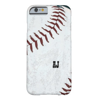 bola del béisbol - caso del iPhone 6 Funda Para iPhone 6 Barely There