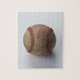Bola del béisbol del béisbol puzzle con fotos