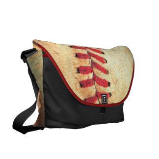 Bola del béisbol del vintage bolsas messenger
