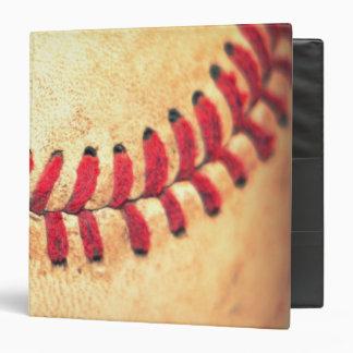 """Bola del béisbol del vintage carpeta 1 1/2"""""""