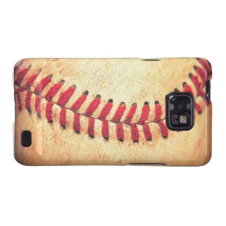 Bola del béisbol del vintage galaxy s2 carcasa