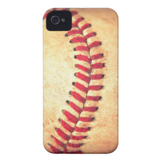 Bola del béisbol del vintage iPhone 4 protectores