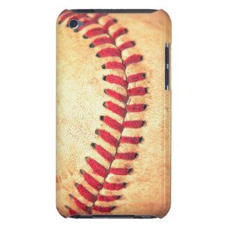 Bola del béisbol del vintage iPod touch Case-Mate funda