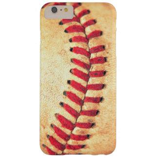 Bola del béisbol del vintage funda barely there iPhone 6 plus