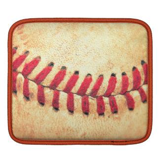 Bola del béisbol del vintage fundas para iPads