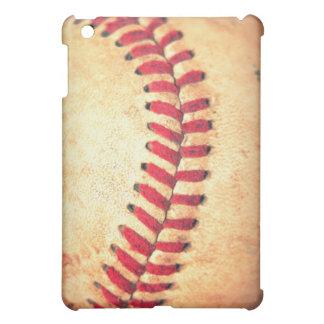 Bola del béisbol del vintage iPad mini cobertura