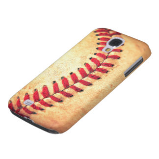 Bola del béisbol del vintage funda para galaxy s4