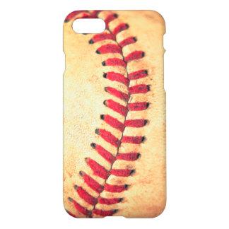 Bola del béisbol del vintage funda para iPhone 7