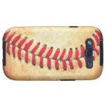 Bola del béisbol del vintage galaxy s3 carcasa