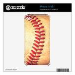 Bola del béisbol del vintage iPhone 4S skin
