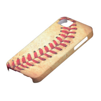 Bola del béisbol del vintage iPhone 5 carcasa