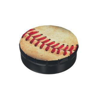 Bola del béisbol del vintage jarrones de dulces