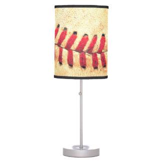 Bola del béisbol del vintage lámpara de escritorio