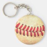 Bola del béisbol del vintage llavero