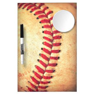 Bola del béisbol del vintage pizarras