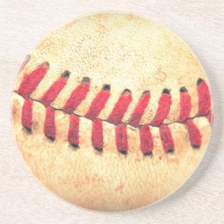 Bola del béisbol del vintage posavasos diseño