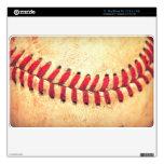 Bola del béisbol del vintage skins para MacBook air