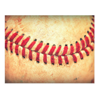 Bola del béisbol del vintage postales